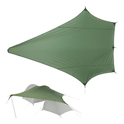 Nordisk Tarp Voss Diamant PU, dusty green    A