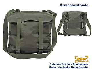 Öriginal Österreichische Kampftasche oliv Bundesheer Packtasche Umhängetasche