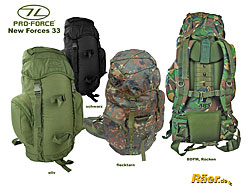 Pro Force New Forces 33, Highlander Rucksack    A