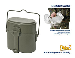 bw kochgeschirr a bundeswehr shop r er hildesheim. Black Bedroom Furniture Sets. Home Design Ideas