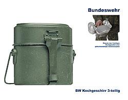 bw kochgeschirr 3 teilig b bundeswehr shop r er hildesheim. Black Bedroom Furniture Sets. Home Design Ideas