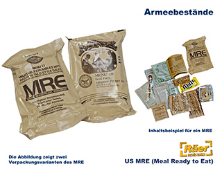 US MRE C-Ration    A