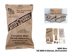 US MRE Zivilversioin, MRE-Star   A