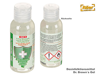 Desinfektionsmittel Dr. Brown´s Gel, 50 ml    A